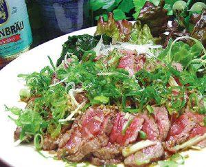 牛肉の炙り焼き-姫路市うまこだ提供