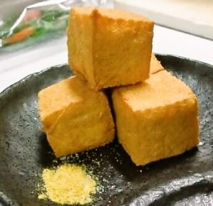 姫路、カリカリ豆腐